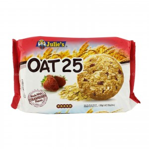 Julie's Oat 25 Strawberry Biscuit - 200 gm