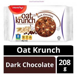 Munchy's Oat Krunch Dark Chocolate Biscuit - 208 gm