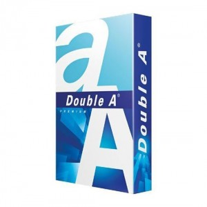 Double A Offset Paper, A4, 80 GSM (Pack of 500 Sheets)