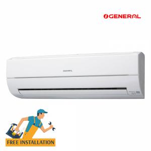 General 1.0Ton Split Wall Type Air Conditioners (ASGA12ASMCW/AEC)