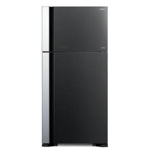 Hitachi 450Ltr. (RVG 540PUC7/N3 GBK) Non-Frost Top Freezer Refrigerator