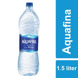 Aquafina Drinking Water 1500 ml PET Case x 9 bottles