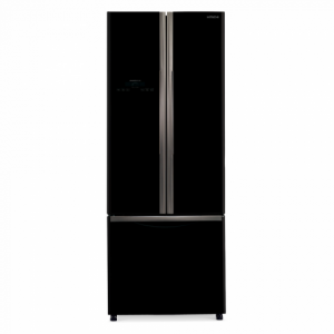 Hitachi 455Ltr. (RWB550PUC2 GBK) Non-Frost French Bottom Inverter Refrigerator
