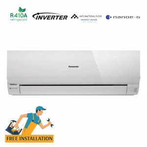 Panasonic 1.5 Ton Split Wall Type Hot & Cool Inverter Air Conditioner (CS-RE18NKE)