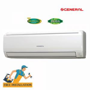 General 1.5 Ton Split Wall Type Air Conditioners (ASGA18AET/ABC)