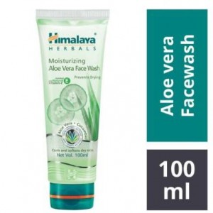 Himalaya Aloe Vera Moisturizing Face Wash 100 ml
