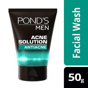 Pond's Men Facewash Acne Solution 50 gm