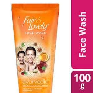 Fair And Lovely Face Wash Ayurvedic 100 gm