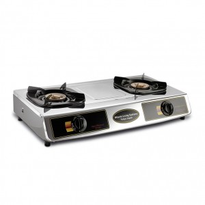 Hitachi 2 Burner Gas Cooker (MPH21RI/210RI) LPG